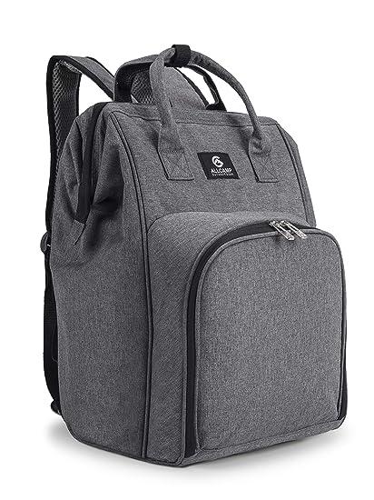 Amazon.com: ALLCAMP - Mochila de picnic con soporte ...