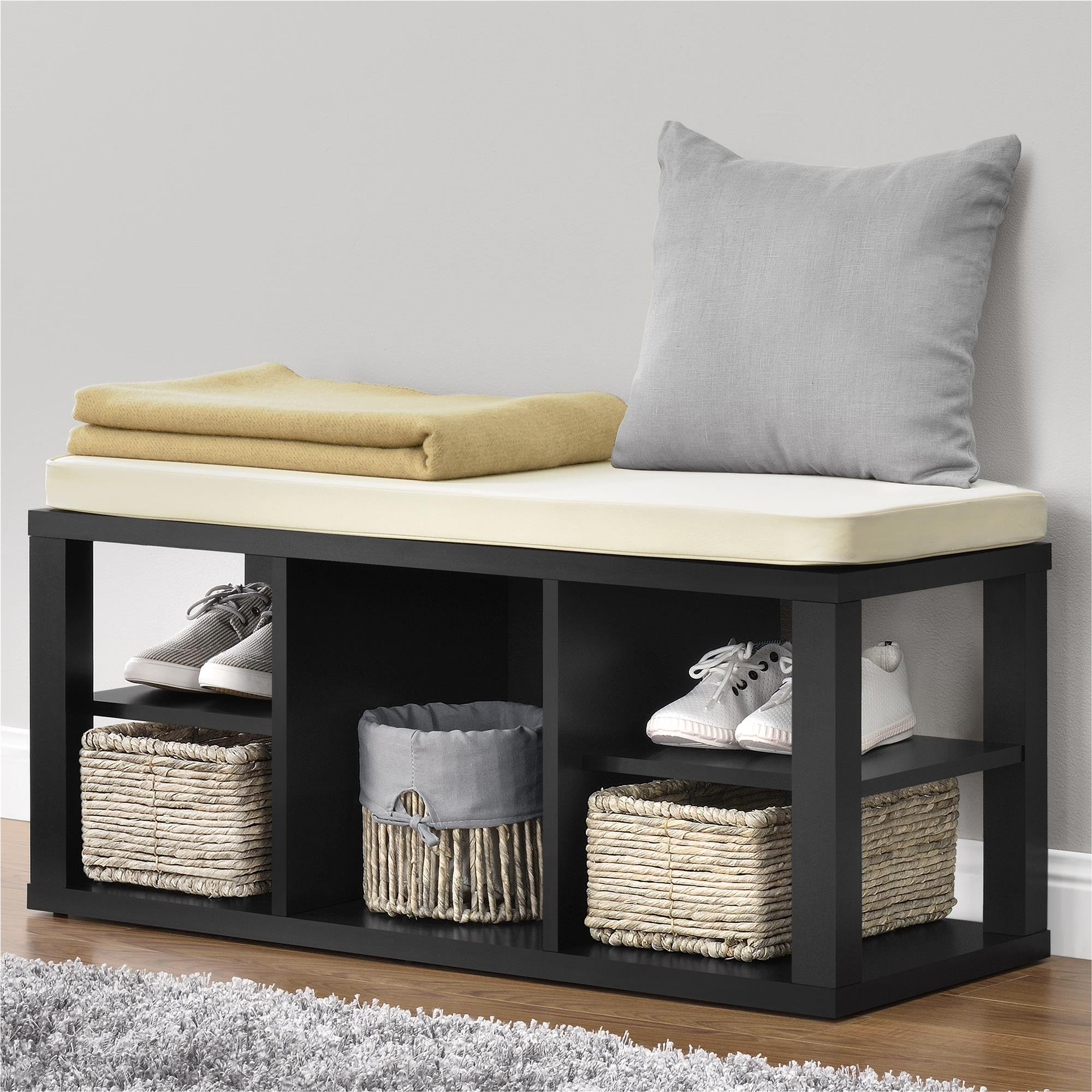 Ameriwood Home Parsons Storage Bench, Black by Ameriwood Home (Image #7)