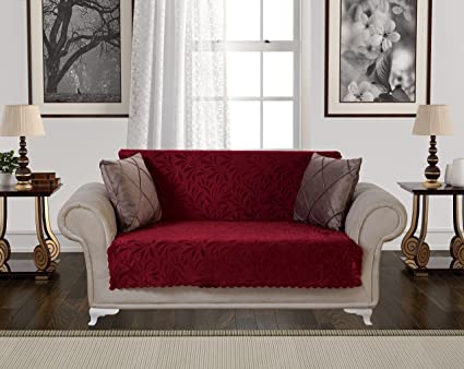 Chiara Rose Acacia Anti Slip Armless Pet Dog Sofa Couch Cover Sectional  Recliner Slipcover Non