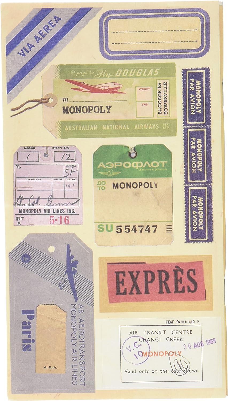 Monopoly 10106 - Cuaderno de viaje con diseño Express: Amazon.es: Oficina y papelería