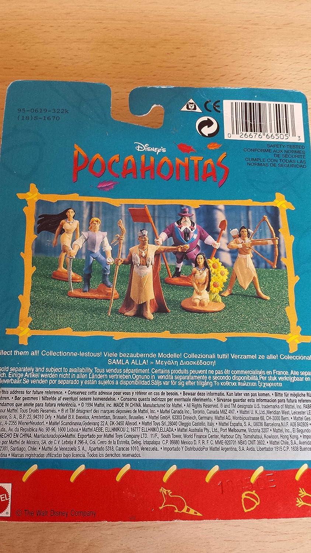 Pocahontas Figure Disneys Collectible Featuring Pocahontas Mattel 66505