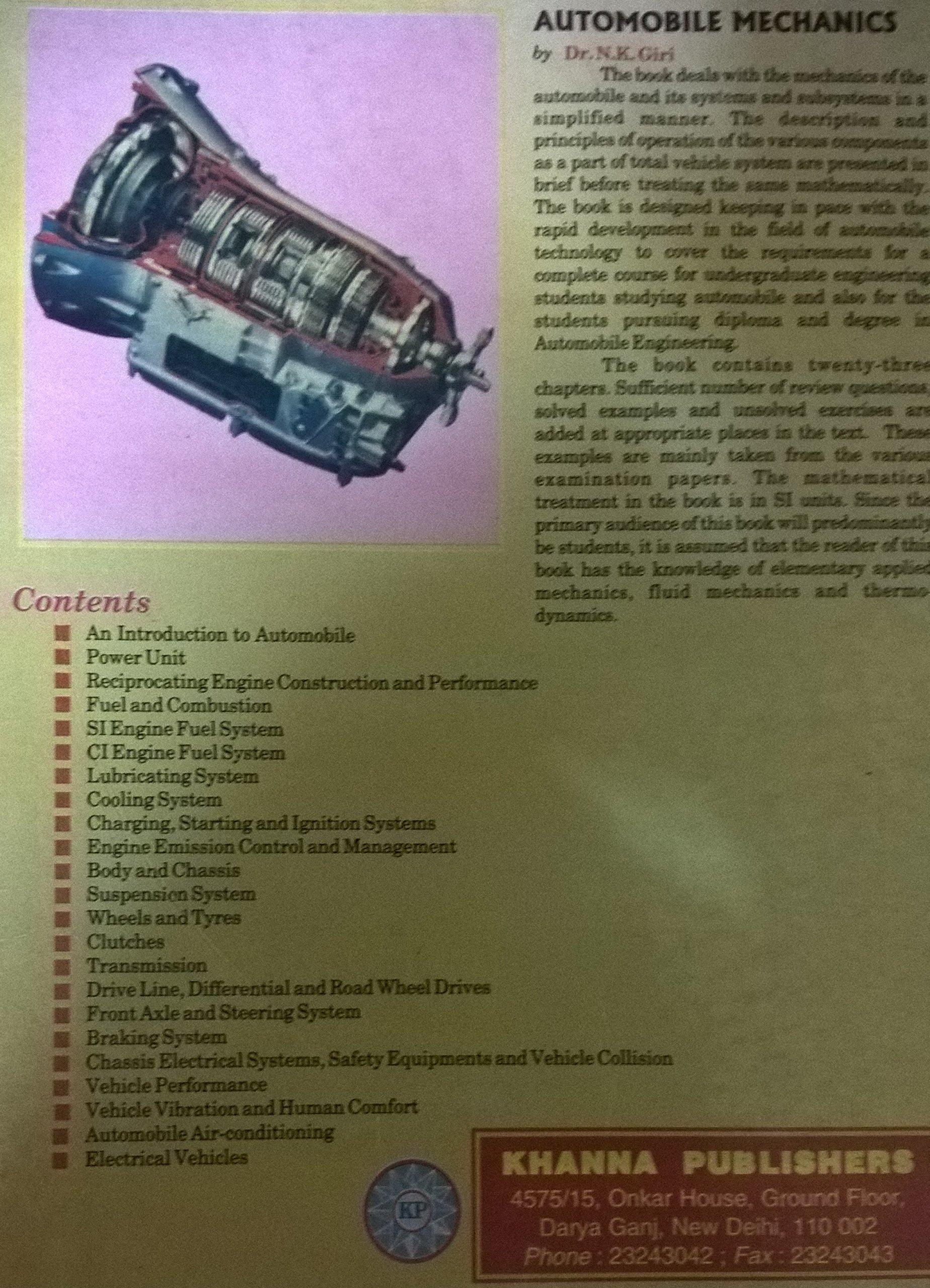 by n k giri pdf Automotive mechanics - WordPress.com