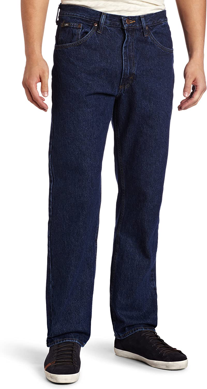 Lee Mens Big /& Tall Regular Fit Straight Leg Jean