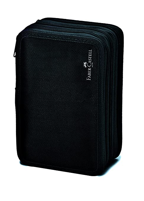 Amazon.com : Faber-Castell 570099 Pencil Case, Black ...
