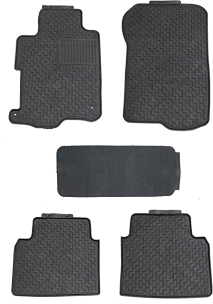 New 2 Pieces Black Nylon Carpet Floor Mats Fit For 2007-2017 Jeep Wrangler