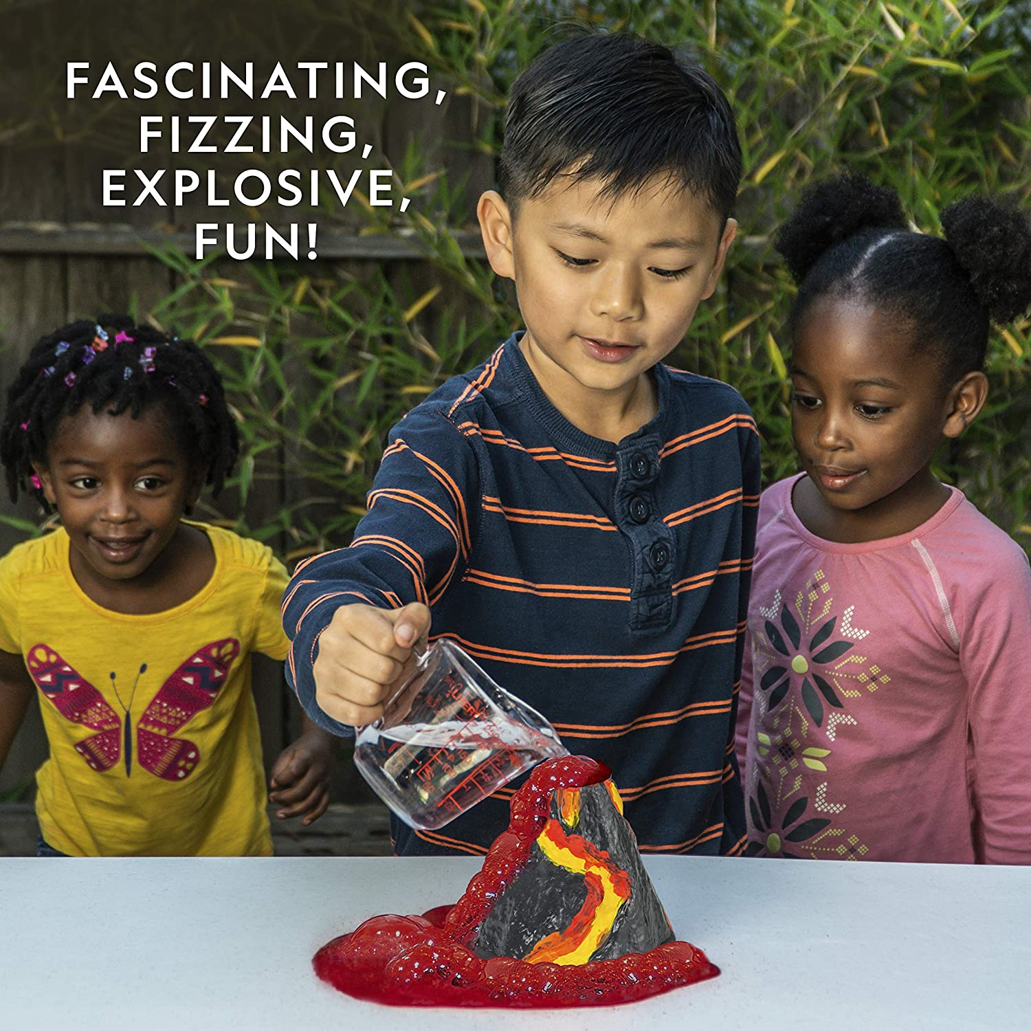 National Geographic Volcano Science Kit Multiple Eruption Experiments to Try Build an Erupting Volcano with This Volcano Kit for Kids Great for Science Projects