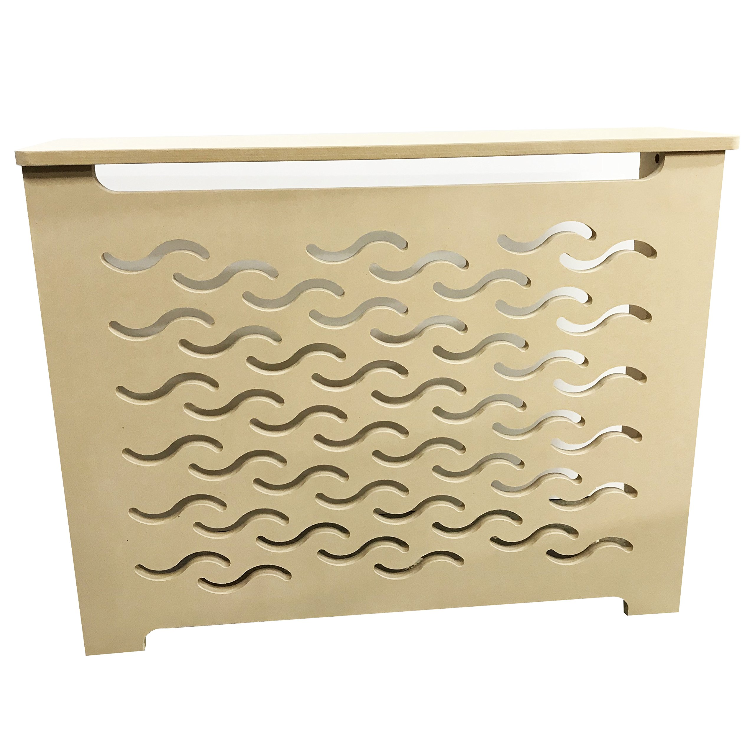 Unfinished MDF Radiator Heater Cover, 32''Tall x 32''Wide x 9'' Deep - CHOOSE YOUR SIZE - Model MD3