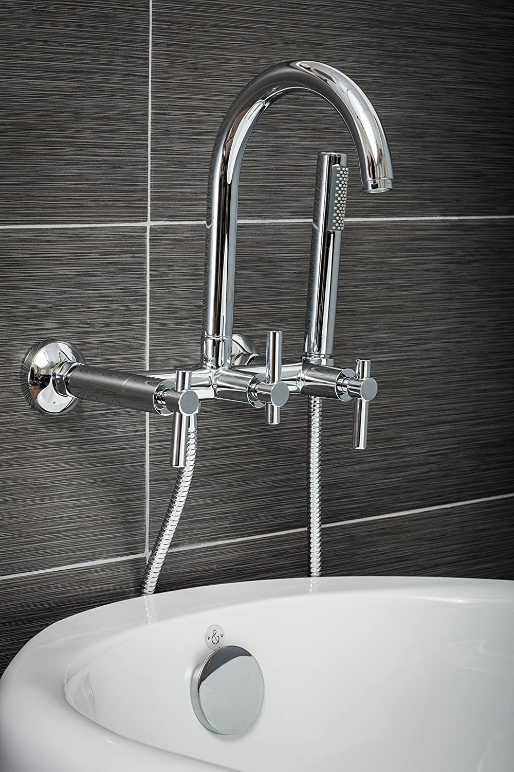 Luxury Clawfoot Tub or Freestanding Tub Filler Faucet, Modern Design ...