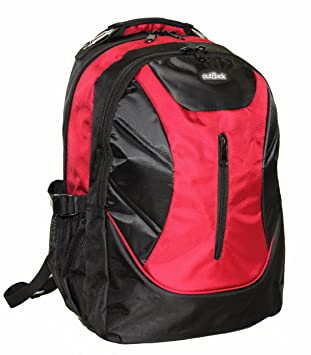 Alta calidad 43,18 cm o 48,26 cm visiodirect como mochila bolsa mochila vuelo cabina Ryanair equipaje de mano Funda 19 Inch Red Talla:talla única: ...