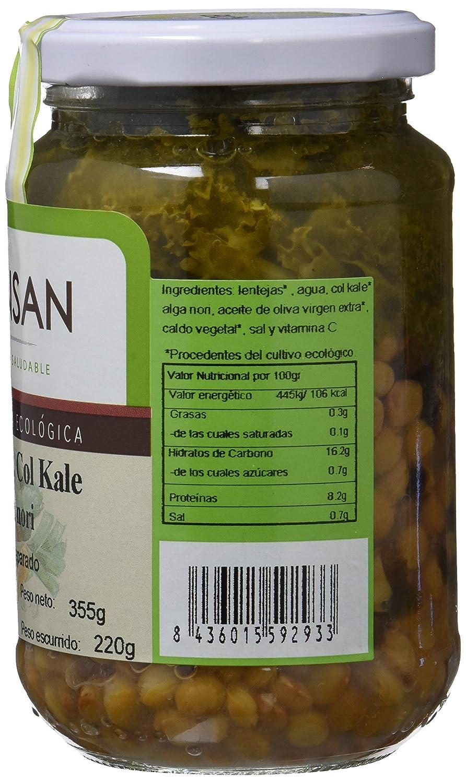 Bionsan Lentejas, Col Kale y Alga Nori - 6 Paquetes de 220 gr - Total: 1320 gr: Amazon.es: Alimentación y bebidas