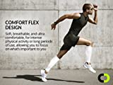 Calf Compression Sleeve for Men & Women (20-30mmHg) - Best Calf Compression Socks for Running, Shin Splint, Calf Pain Relief, Leg Support Sleeve for Runners, Medical, Air Travel, Nursing, Cycling