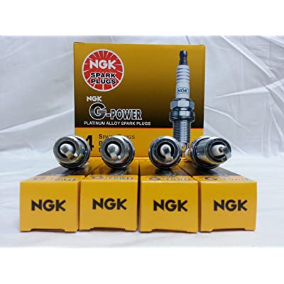 NGK (7100) ZFR6FGP Spark Plug - Pack of 4: Automotive [5Bkhe0903648]