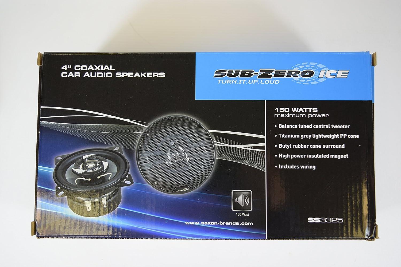 Sub-Zero Ice SS3328 Ensemble Haut-Parleurs 6 x 9-inch Triaxial 450W