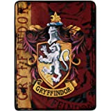Harry Potter Micro Raschel Throw Blanket, 46 x 60 Inches, Battle Flag