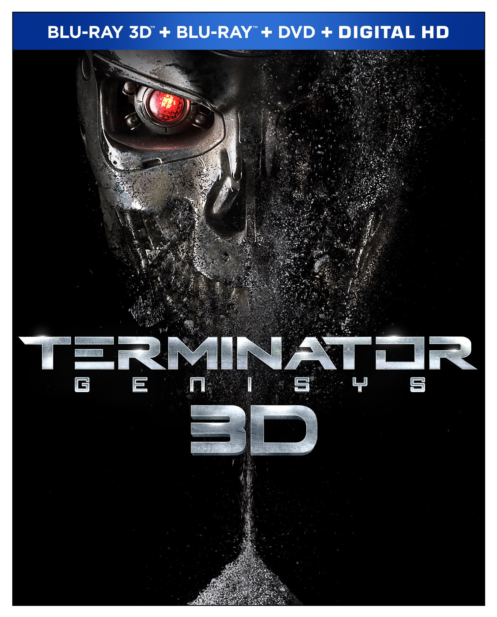 Blu-ray 3D : Terminator Genisys (With DVD, With Blu-Ray, Widescreen, Dolby, AC-3)