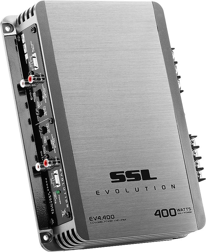 Amazon.com: Sound Storm EV4.400 Evolution 400 Watt, 4 Channel, 2 to 8 Ohm Stable Class A/B, Full Range Car Amplifier: Car Electronics