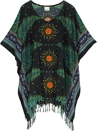 On sale  Plus size Upcycled womens tunic art boho handmade artsy funky tunic top by beachbirdssc thermal and cotton long sleeves