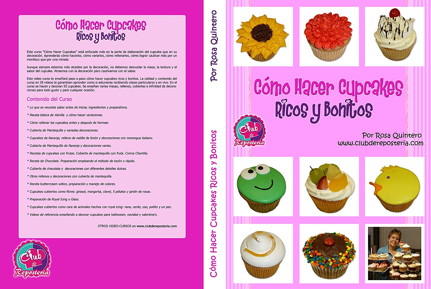 Amazon.com: Como Hacer Cupcakes - Completo Video Curso paso a paso para hacer, rellenar y decorar cupcakes: Club de Reposteria: Movies & TV