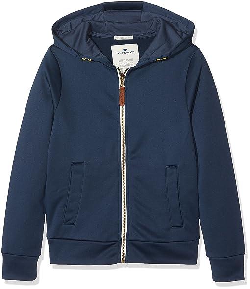 TOM TAILOR Jungen Sweatshirt Urban Retro Trainingsjacket  Amazon.de   Bekleidung 148b4067f4