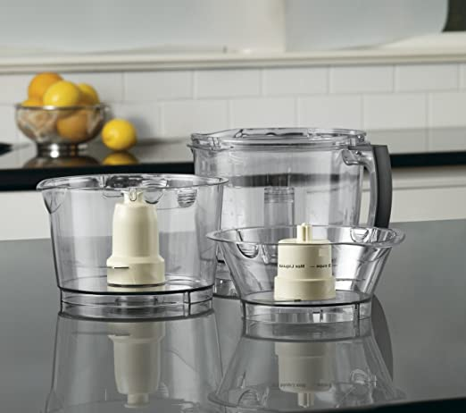 Cuisinart FP14DCE - Procesador de alimentos, Plata, Acero ...