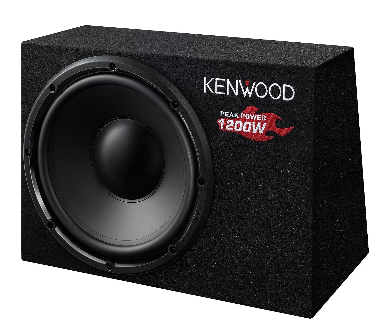 Kenwood KSC-W1200B Subwoofer (300mm, 1200 Watt, 1-er Stü ck) Kenwood Electronics Deutschland GmbH