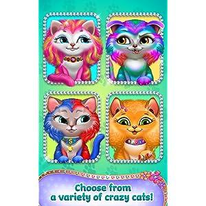 Loca peluquería para gatos - Cambio de peinado: Amazon.es: Appstore para Android