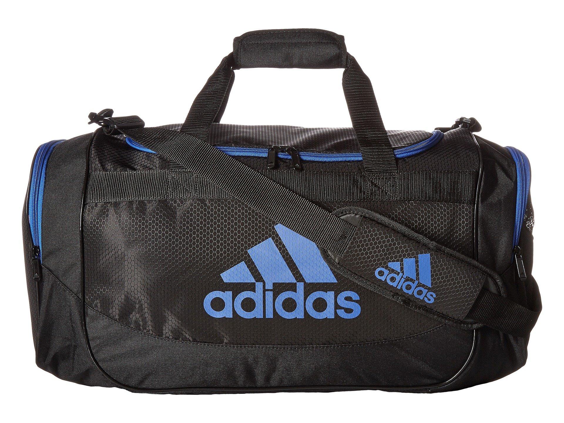 adidas Unisex Medium Defense Duffel Black/Blue One Size