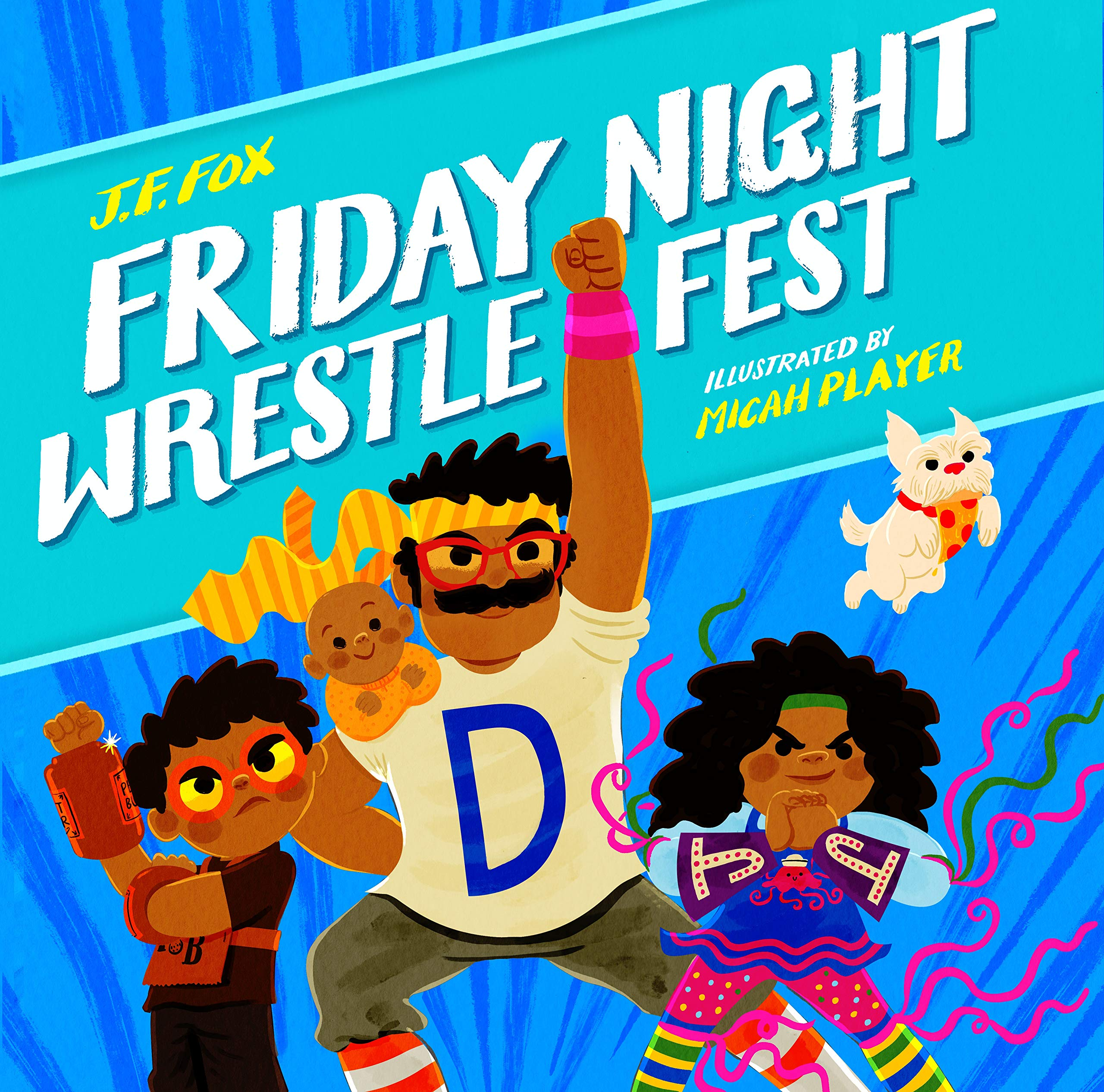 Friday Night Wrestlefest by J.F. Fox