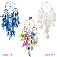 Asian Hobby Crafts Dream Catcher Wall Hanging (55x15cm)