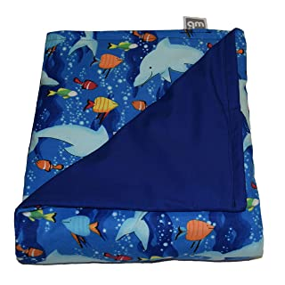 product image for WEIGHTED BLANKETS PLUS LLC - Made in USA - Weighted Blanket - Cotton/Flannel. Several Patterns to Choose from with Weights ranging from 4 to 20 lbs. Start Relaxing Now!