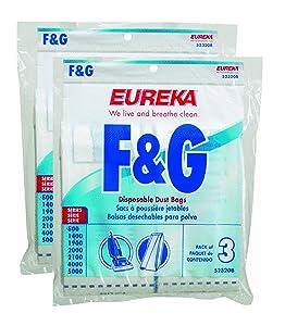 Genuine Eureka F&G Disposable Dust Bag 52320C-6 6-