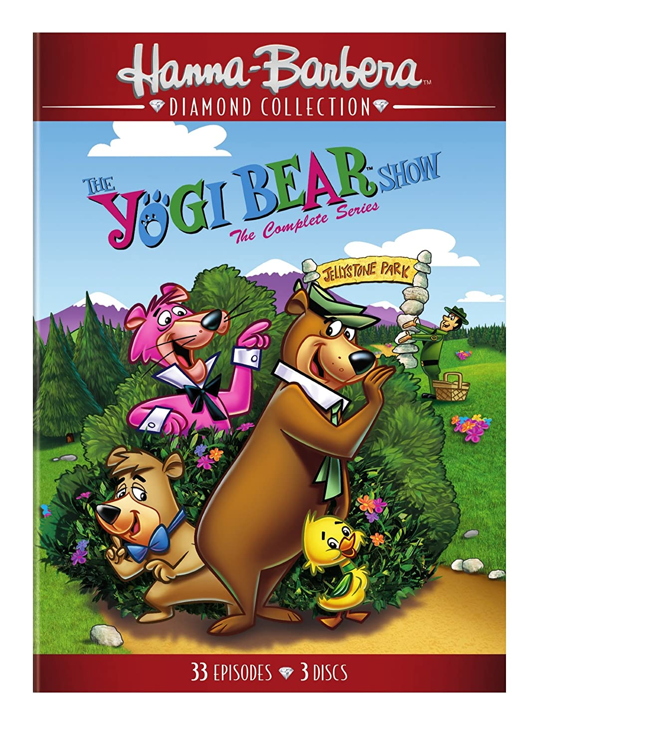 Amazon Com Yogi Bear Show The The Complete Series Rpkgd Dvd
