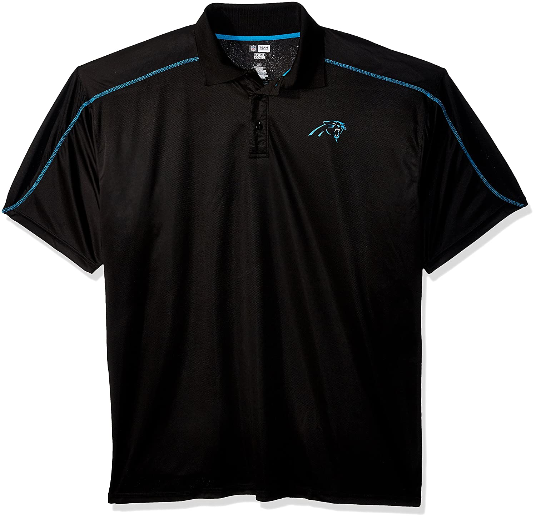 9d56b6292 Amazon.com : Profile Big & Tall NFL Carolina Panthers Adult Men NFL Plus  S/Synthetic Polo, 3XT, Black : Sports & Outdoors