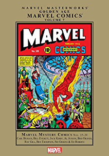 Amazon com: Golden Age Marvel Comics Masterworks Vol  1 (Marvel