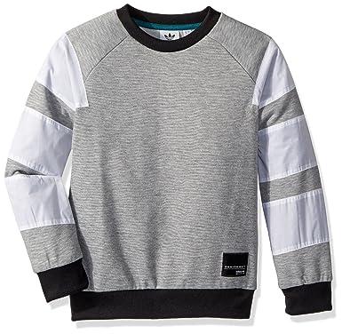 0323819e04d3 Amazon.com  adidas Originals Boys Originals EQT Crew Sweatshirt ...