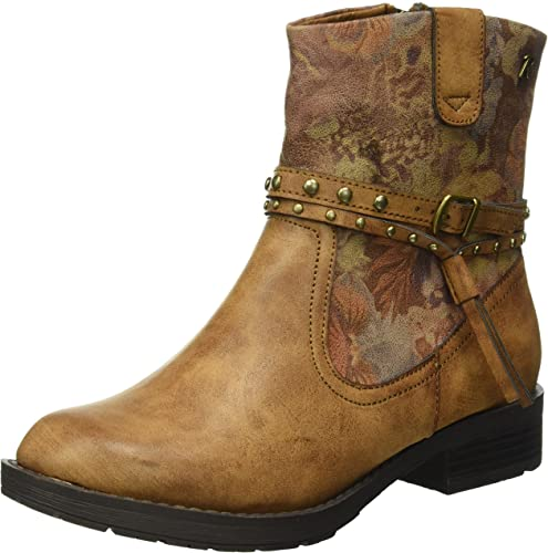 REFRESH Damen 62262 Chelsea Boots Braun (Camel) 41 EU