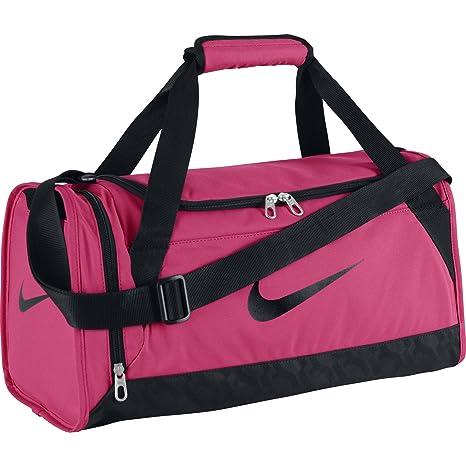 4ccae53760 Women s Nike Brasilia 6 X-Small Duffel Bag Spark Pink Size X-Small   Amazon.in  Bags