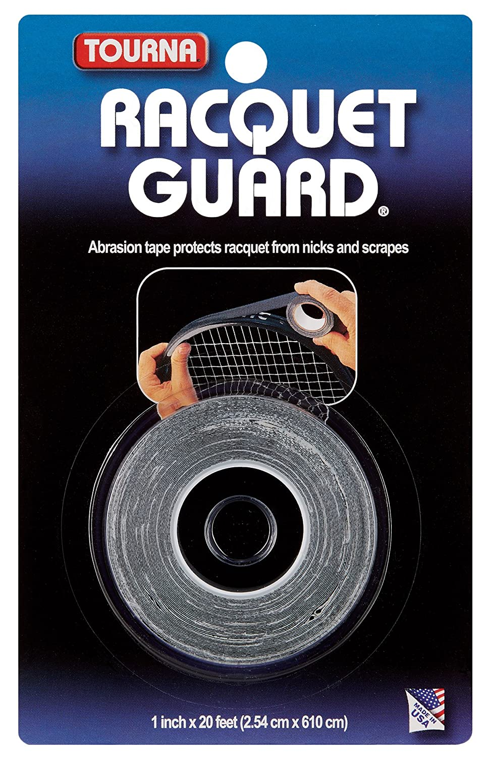 Tourna Racquet Guard Tape RGT-BK