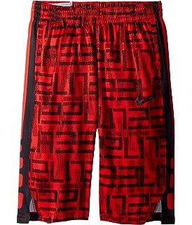 0b4175cd19ba NIKE Kids Dry Elite Stripe Print Basketball Short (Little Kids Big Kids) (