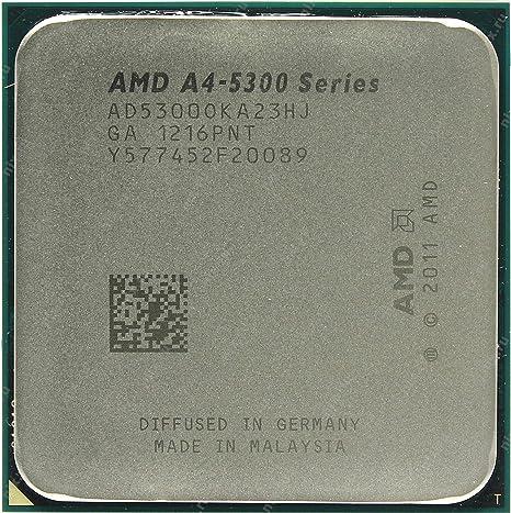AMD A4-5300 APU 3.4Ghz Processor AD5300OKHJBOX