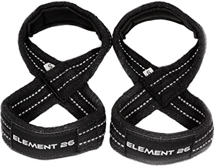 Amazon Com Element 26 Padded Figure 8 Lifting Straps Weightlifting Straps Figure 8 Straps Wrist Straps For Men Women Weight Lifting Deadlifts Deadlifting Straps Sports Outdoors