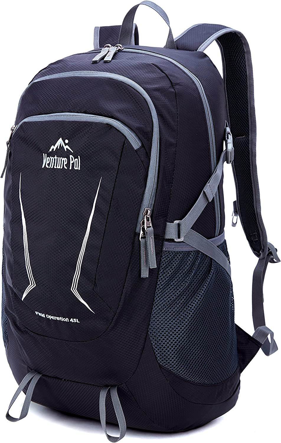 Venture Pal Large 45L Hiking Backpack – Packable Lightweight Travel Backpack Daypack