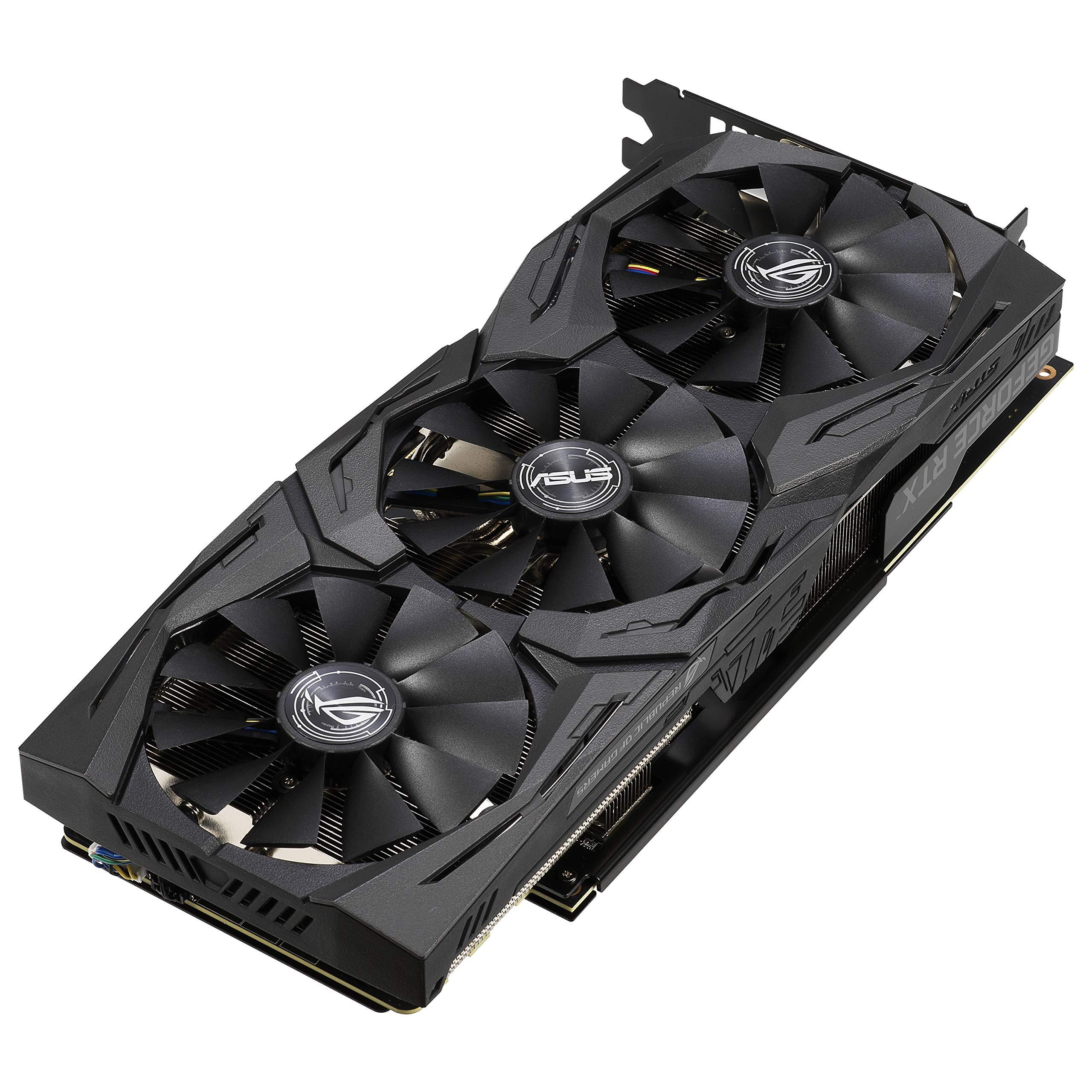 ASUS ROG Strix GeForce RTX 2060 Overclocked 6G GDDR6 HDMI DP 1.4 Gaming Graphics Card (ROG-STRIX-RTX-2060-O6G) by ASUS (Image #3)