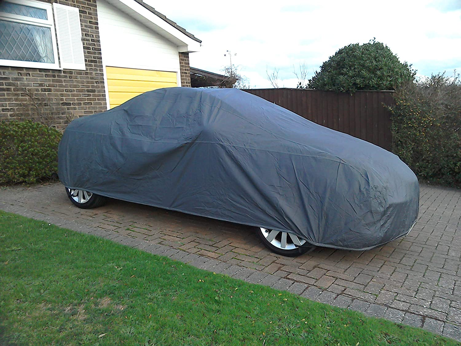 Shield Autocare © Premium Breathable Full Car Cover Indoor And Outdoor Large