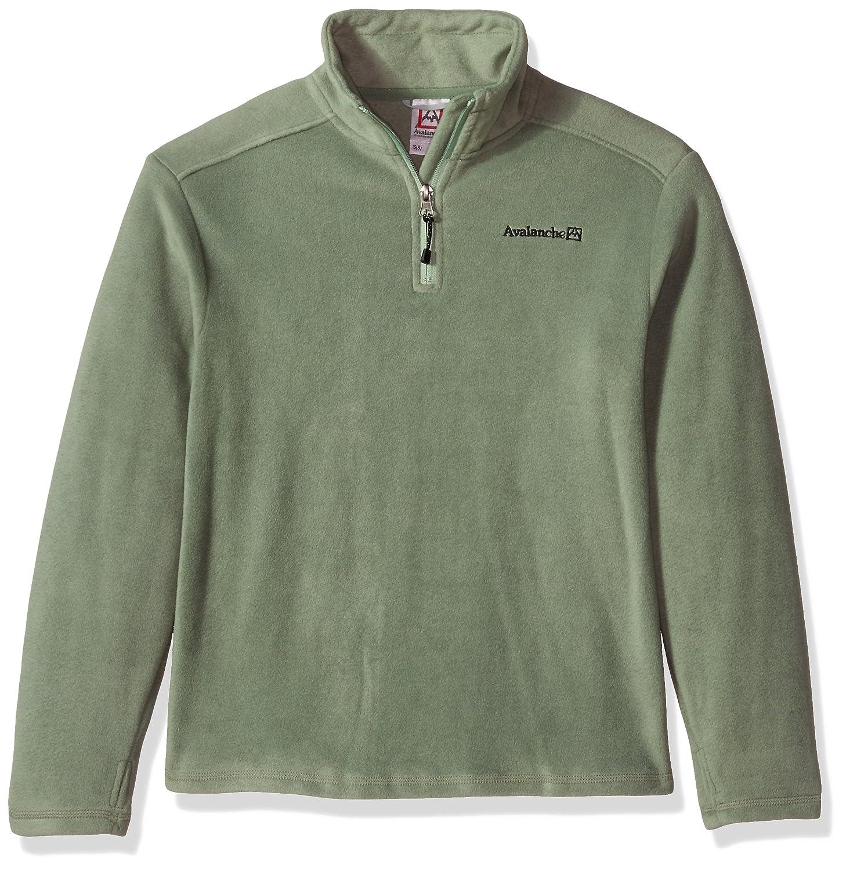 Avalanche Boys' Big Quarter Zip Fleece Pullover