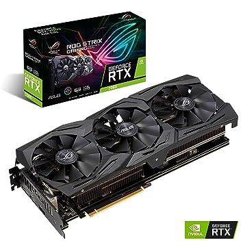 ASUS ROG-STRIX-RTX2060-O6G-GAMING - Tarjeta gráfica (NVIDIA GeForce RTX 2060, 6 GB, GDDR6, 192 bit, 7680 x 4320 Pixeles)