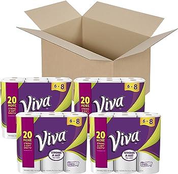 Viva Choose-A-Sheet* 24 Big Rolls Paper Towels