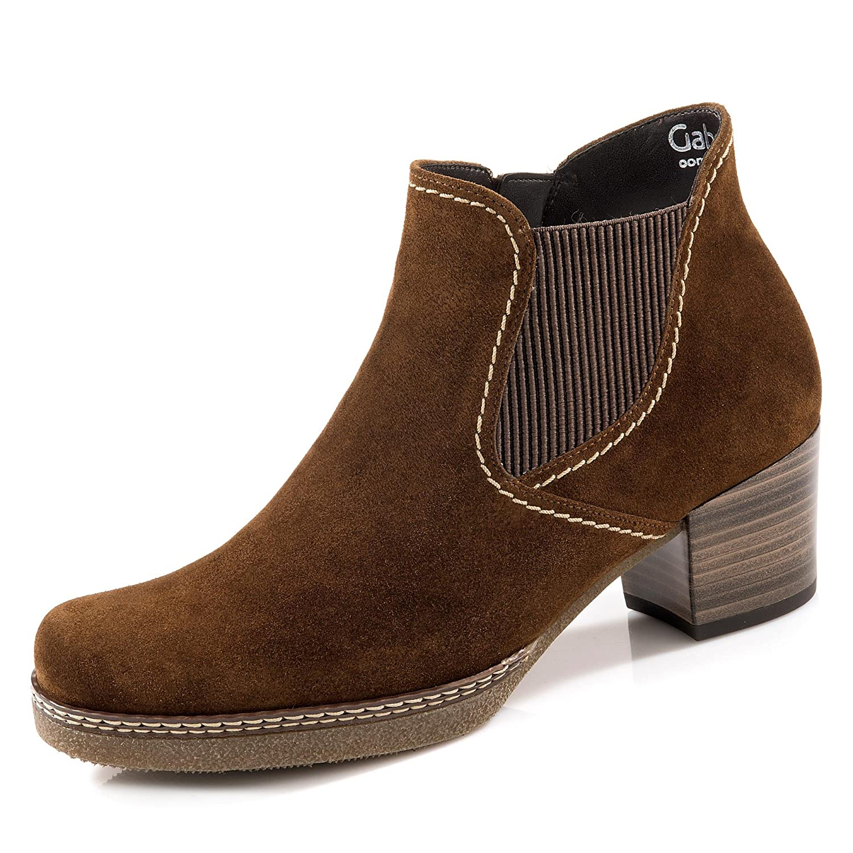 Gabor Damen Comfort Basic Stiefel  37.5 EU|Braun