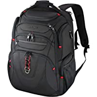 KROSER Travel Laptop Backpack 17.3 Inch XL Heavy Duty Computer Backpack Water-Repellent College Daypack Check Point…