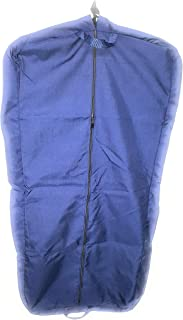 """product image for Garment bag, ladies dress length 46"""" Garment bag,carry-on size bag Made in U.s.a. (Navy)"""